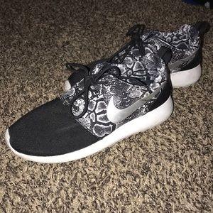 Snake Print Nike Shoes